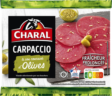 Charal Carpaccio Aux Olives, Charal, 230g