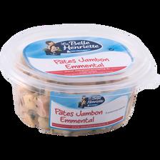 Saldes de pâtes jambon emmental LA BELLE HENRIETTE, 300g