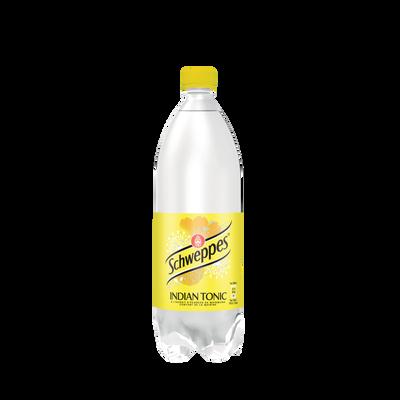 SCHWEPPES Indian Tonic, bouteille de 1l