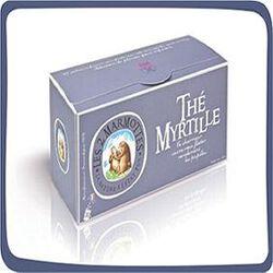 Thé à la Myrtille, LES 2 MARMOTTES, 60 g.