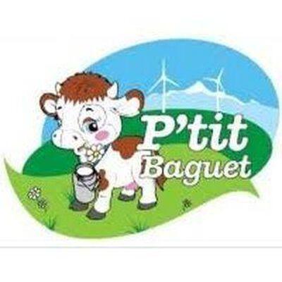 Yaourt P'tit Baguet à la rhubarbe fabriqué à la ferme au lait de montagne 4x125g Gaec Baguet