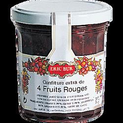 Confiture 4 fruits rouges ERIC BUR, 370g