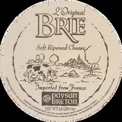 L'original brie tarte, lait pasteurisé, PAYSAN BRETON