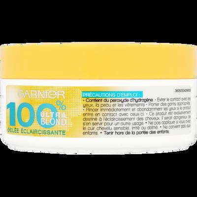 Gelée éclaircissante 100% Blond 100% COLOR, 150ml