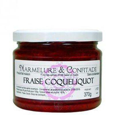 CONFITURE FRAISE COQUELIQUOT 370G