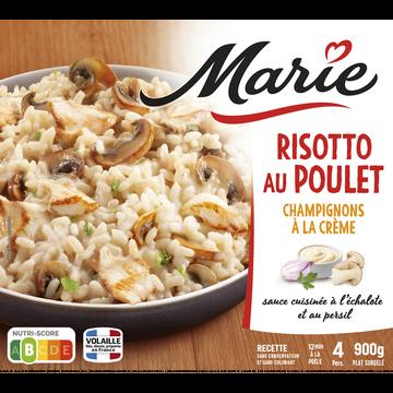 Marie Risotto Aux Champignons Et Poulet À La Crème Marie, 900g