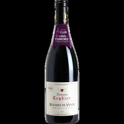"""Vin rouge AOP Beaumes de Venise """"Domaine Leydier"""" CVT"""