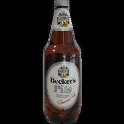 Bière Becker's Pils, 4,9°, bouteille en plastique de 1l