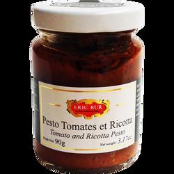Pesto tomates et ricotta ERIC BUR, 90g