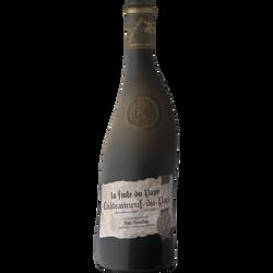Vin rouge Châteauneuf du Pape AOP La Fiole du Pape, 75cl sous étui