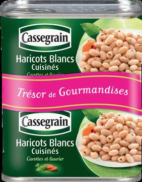 Cassegrain Haricots Blancs Cuisinés