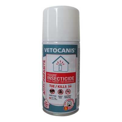 Diffuseur insecticide acaricide VETOCANIS, 150ml