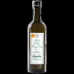 Huile d'olive séléction CAUVIN, 75cl