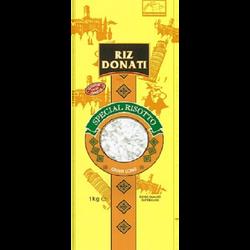 Riz long spécial risotto DONATI, 1kg