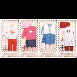Vêtements assortis pour poupées - 45cm - Dès 3 ans