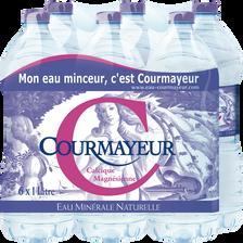 Courmayeur Eau Minérale Naturelle , 6x1l