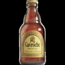 Bière blonde 8,5° gavroche, bouteille de 33cl