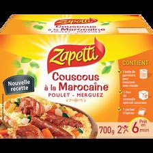 Couscous à la Marocaine poulet merguez ZAPETTI, 700g