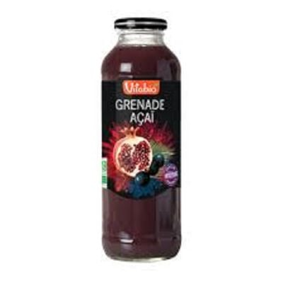 Cocktail Grenade Açaï bio Vitabio 50cl