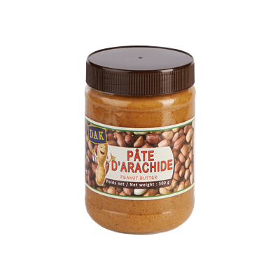 Pâte d'arachide Africanuts DAK, bocal de 500g
