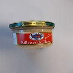 RILLETTES DE THON CRUSTARMOR AU POIVRE VERT 90G