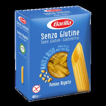 Barilla Penne Rigate Sans Gluten Barilla, Boite De 400g