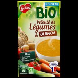 Soupe mouliné de légumes et quinoa bio LIEBIG, 1litre