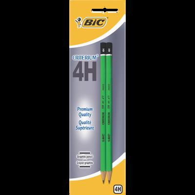 Crayon de papier 4H BIC Criterium 550, pack de 2