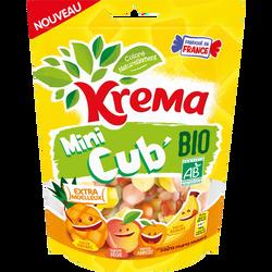 KREMA mini cub bio fruits jaunes 130g