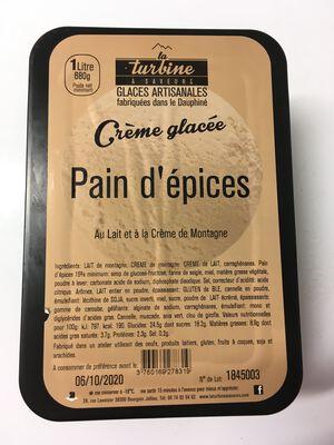 GLACE ARTISANALE PAIN D'EPICES