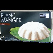 Blanc manger coco GOURMETISS, boîte de 70g