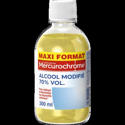 Alcool à 70° modifié MERCUROCHROM,  300ml