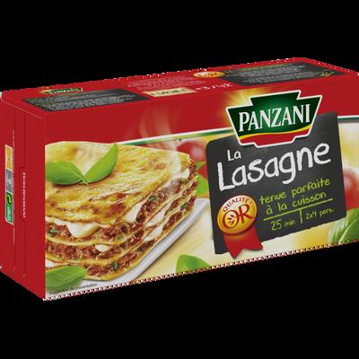 Lasagnes PANZANI, Spécialités, étui de 500g