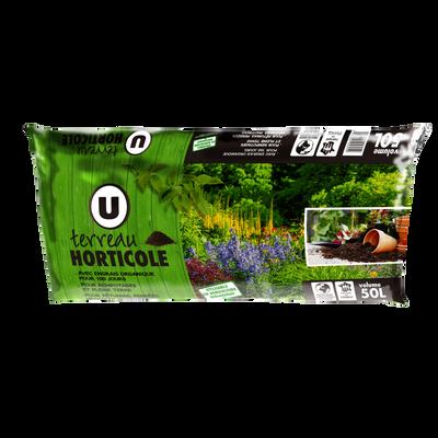 Terreau horticole U 50l, UAB fertilisation 100 jours