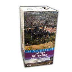 BIB de 3 litre de MUSCAT DE RIVESALTES , Vin doux naturel VIGNERONS LATOUR DE FRANCE