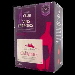 Vin rouge AOP villages Cairanne Terre de Plaisir, bouteille de 2,25l