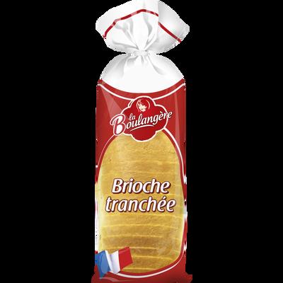 Brioche tranchée LA BOULANGERE, 500g