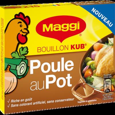 Bouillon kub poule au pot MAGGI 150g