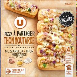 Pizza à partager thon moutarde U, 500g