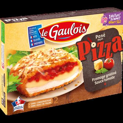 Croq' façon pizza LE GAULOIS, 2 pièces, 200g