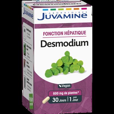 JUVAMINE DESMODIUM, Fonction hépatique, 30 gélules végétales