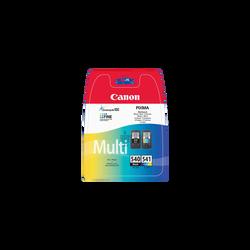 Pack 2 cartouches d'encre CANON pour imprimante, PG540 + CL541 pour imprimante MG2250, sous blister