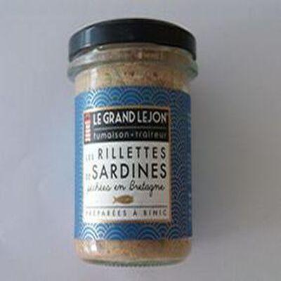 LES RILLETTES DE SARDINES DU GRAND LEJON