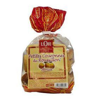 Sachet de petites couronnes du Roussillon à l'abricot  LOR 250G