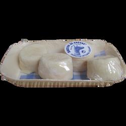 Bouton pur chèvre sec fermier lait cru 31%mg barquette x4 80g