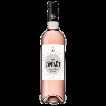 Buzet Vin Rosé Sans Sulfites Ajoutés Buzet Aoc L'intact, 75cl