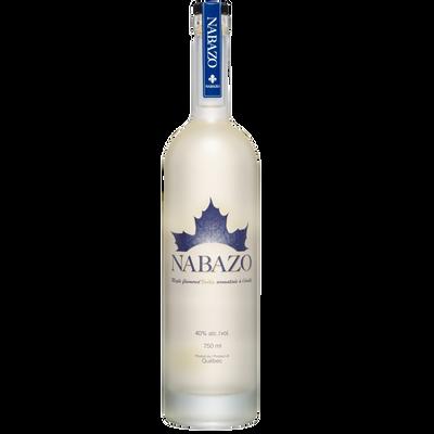 Vodka au sirop d'érable NABAZO 40°, bouteille 750 ml