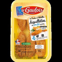 Aiguillette de poulet panée, LE GAULOIS, 180g