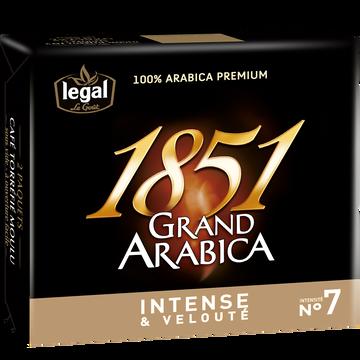 Legal Café Moulu Grand Arabica 1851 Legal, 2x250g