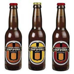 TRIPACK BIERE MIXTE CAP D'ONA  ( Ambrée, Blonde, Spéciale ) bouteille 3X33CL